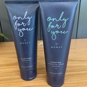 Monat shampoo and mask